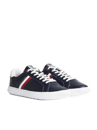 Sneakers Man Essential Navy Blue Tommy Jeans Footwear