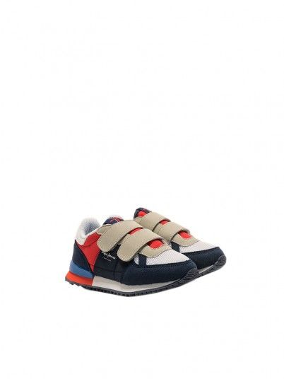 Sneakers Boy Sydney Navy Blue Pepe Jeans Kids