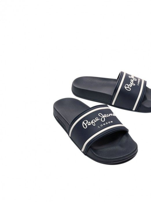 Flip Flops Boy Navy Blue Pepe Jeans London