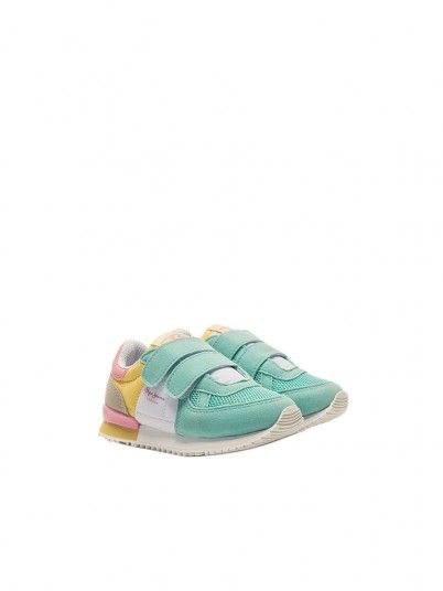 Tenis Niña Multicolor Pepe Jeans London