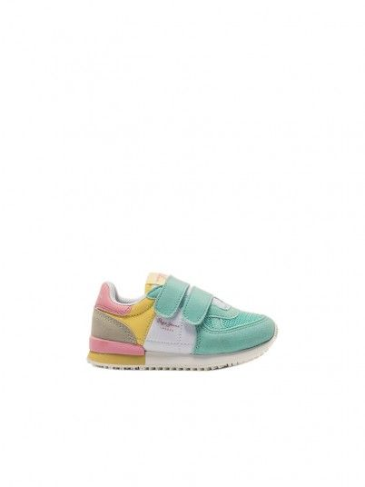 Tenis Fille Multicolore Pepe Jeans London