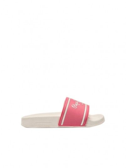 Flip Flops Girl Rose Pepe Jeans London