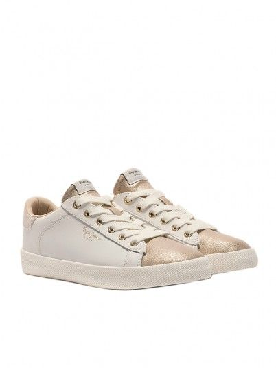 Sneakers Donna Bianco Pepe Jeans London