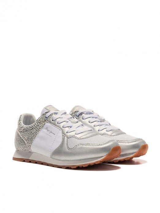 Sneakers Woman White Pepe Jeans London