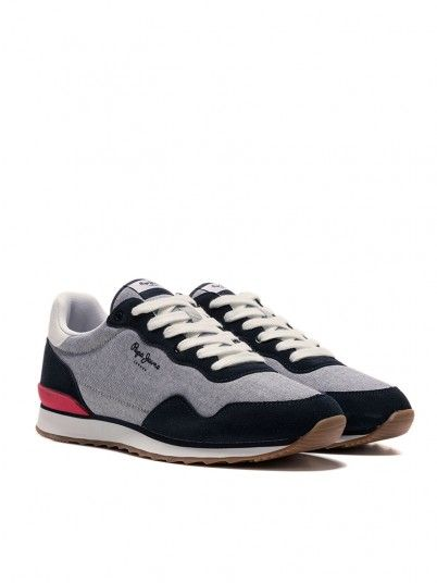 Sneakers Man Cross4 Jeans Course Pepe Jeans Footwear