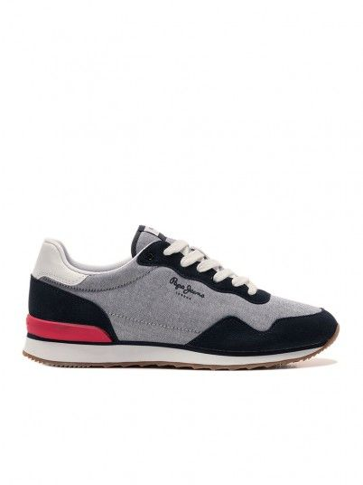Sneakers Man Light Jeans Pepe Jeans London