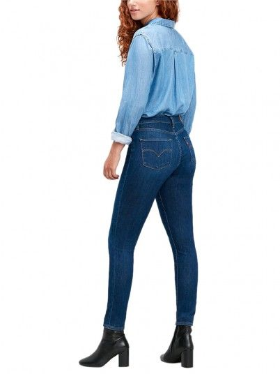 JEANS MULHER 721 HIGH RISE SKINNY LEVI'S