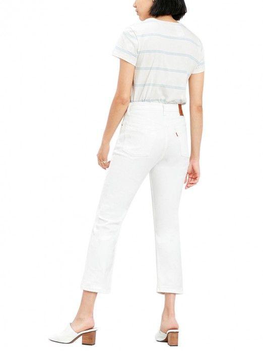 Pants Woman 501 White Levis