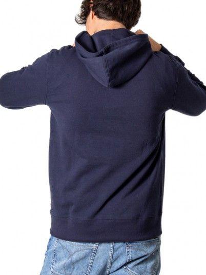 Sweatshirt Homme Bleu Marine Levis
