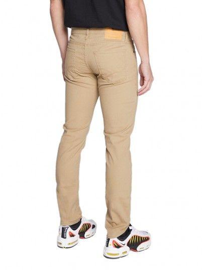 Pantalones Hombre Beige Jack & Jones