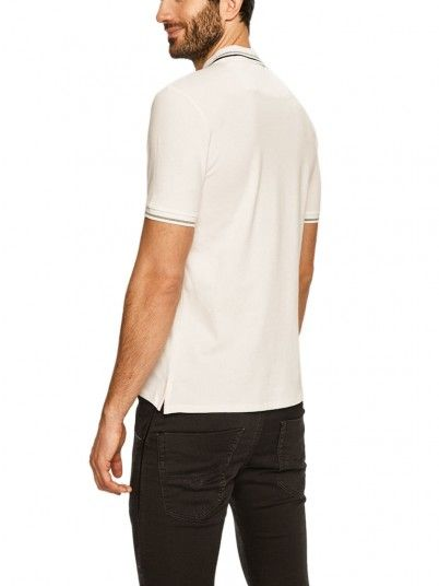 Polo Shirt Man White Guess