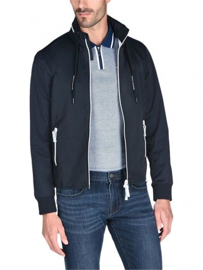 Jacket Man Armani Dark Blue Armani Exchange