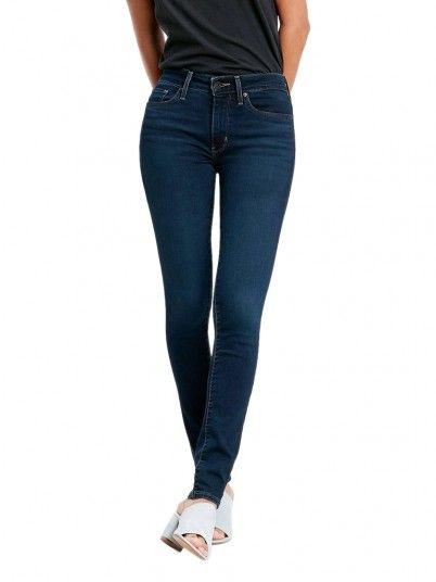 Jeans Mujer Jeans Oscuros Levis