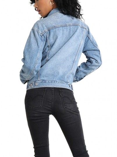 Jacket Woman Ex-Boyfriend Jeans Levis