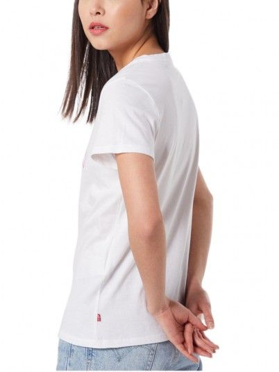 T-SHIRT MULHER THE PERFECT TEE LEVI'S