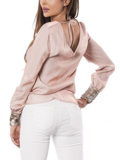 Blouse Woman Salmon Fracomina