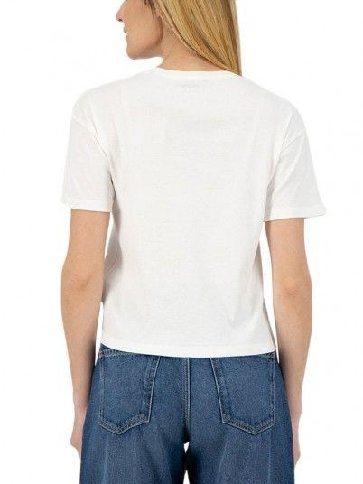 Camiseta Mujer Blanco Pepe Jeans London