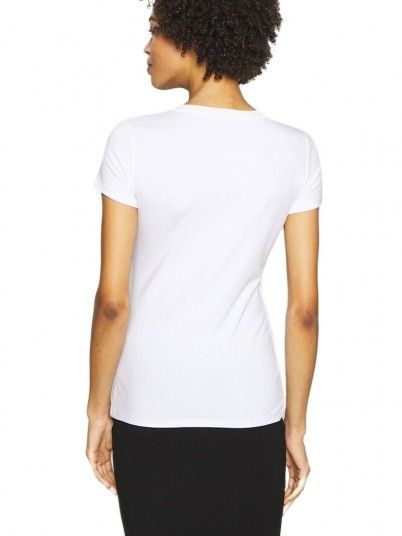 T-Shirt Donna Lory Bianco Guess