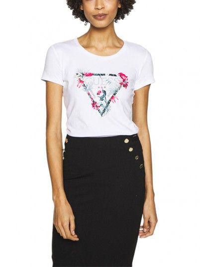 T-SHIRT MULHER LORY TEE GUESS