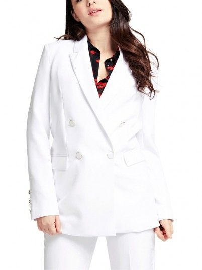 Blazer Woman White Guess