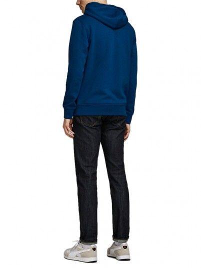 Sweatshirt Hombre Azul Jack & Jones
