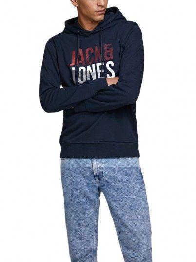 Sweatshirt Hombre Azul Marino Jack & Jones