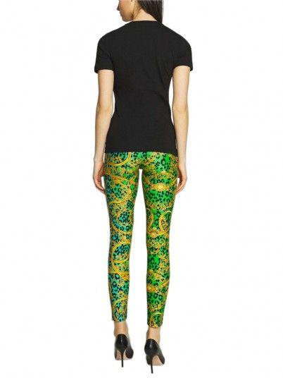 Camiseta Mujer Versace Negro Versace Jeans