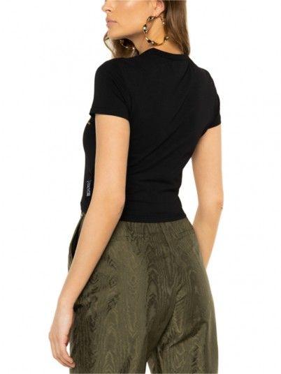 T-Shirt Woman Black Versace