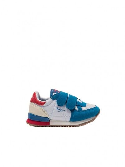 Sneakers Boy Blue Pepe Jeans London