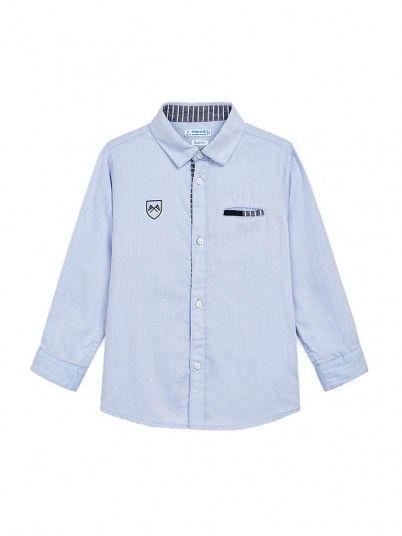 Camisa Niño Azul Mayoral