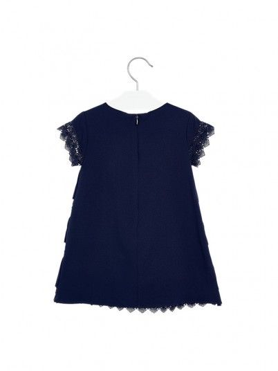 Dress Girl Navy Blue Mayoral