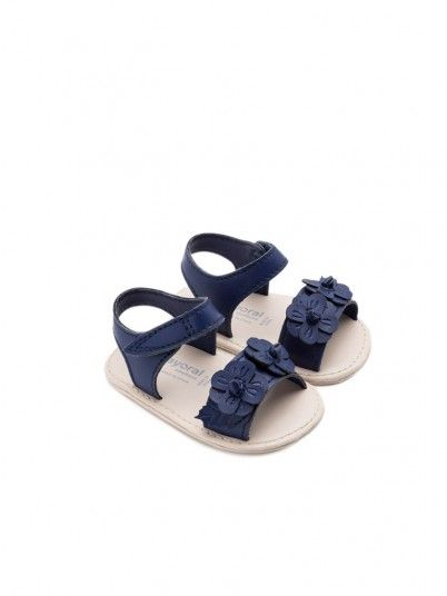 Sandals Baby Girl Navy Blue Mayoral
