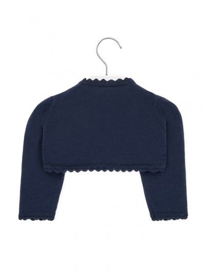 Jacket Baby Girl Navy Blue Mayoral