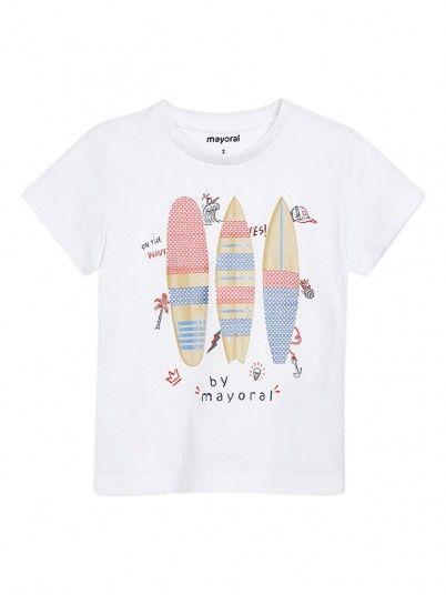 T-shirt lantejolas menino Mayoral