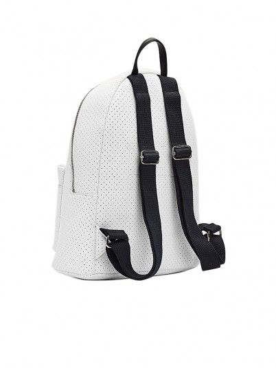 Backpack Woman White Tommy Jeans