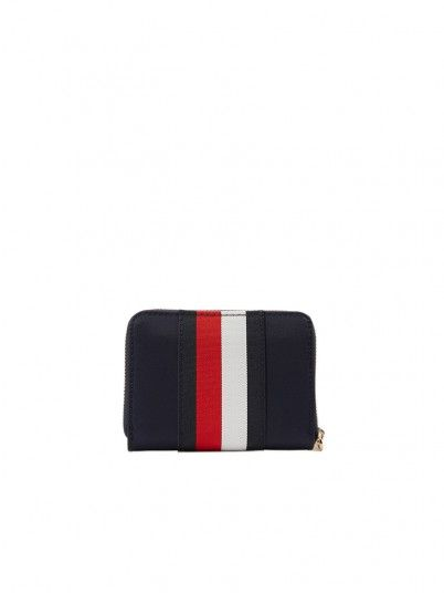 Wallet Woman Navy Blue Tommy Jeans