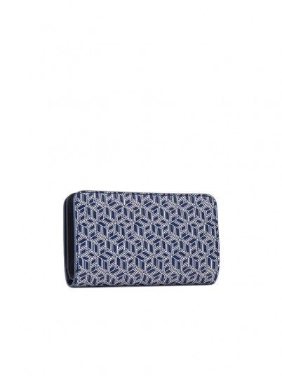 Wallet Woman Med Blue Tommy Jeans Footwear