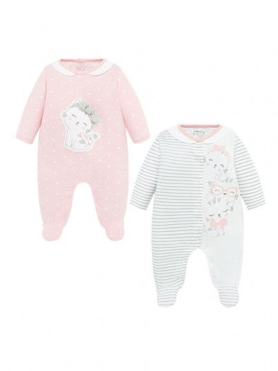Set Baby Girl Compridos Light Pink Mayoral
