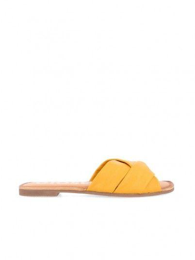 Chanclas Mujer Amarillo Gioseppo