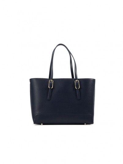 Handbag Woman Honey Navy Blue Tommy Jeans Footwear