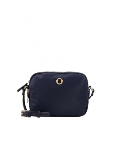 Handbag Woman Poppy Navy Blue Tommy Jeans Footwear