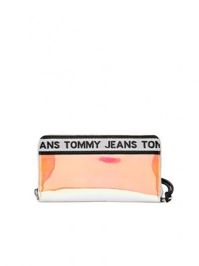 Wallet Woman Logo Multicolor Tommy Jeans Footwear