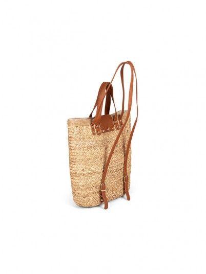 Handbag Woman Aste Beige Gioseppo