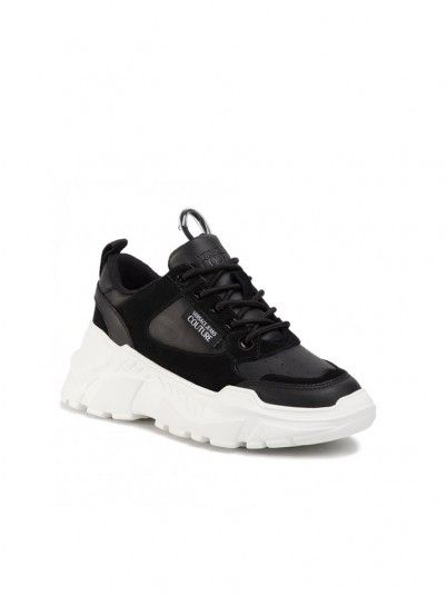 Sneakers Woman Black Versace