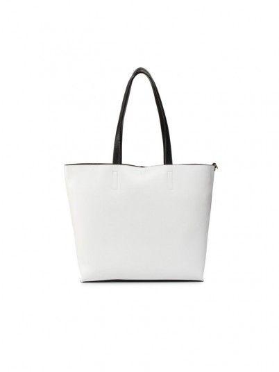 Handbag Woman Dis.1 White Versace Jeans