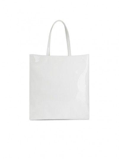 Handbag Woman Dis.1 Black W / White Versace Jeans
