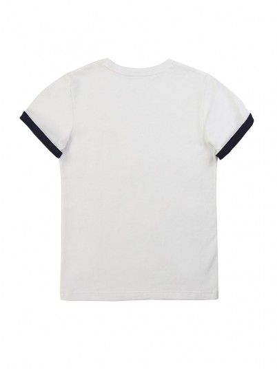 T-Shirt Boy Hugo White Hugo Boss