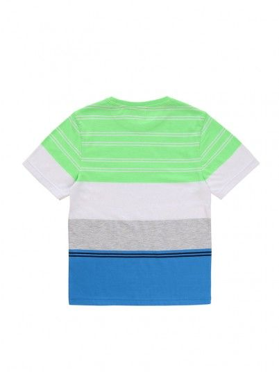 T-Shirt Boy Hugo Green Hugo Boss