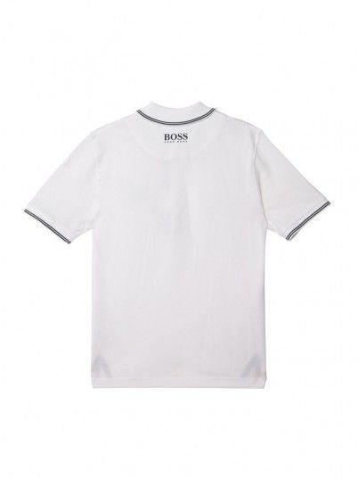 Polo Shirt Boy White Hugo Boss