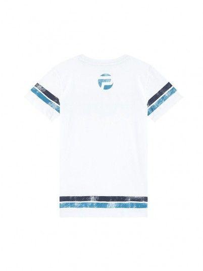 T-Shirt Ragazzo Adrian Bianco Pepe Jeans Kids